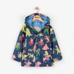 Hatley  RC6DINO532 .  Monsters Raincoat . Available Sizes 2/3/4/5/6/7/8 Years .  Spring/Summer 2018